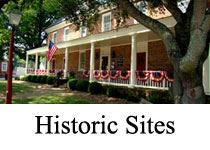 Historic Sites image of a brick plantation style home