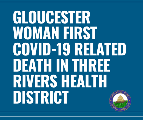 PSA #13: COVID-19 Death Gloucester Resident