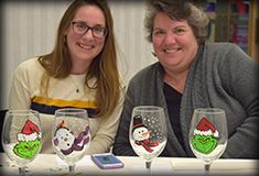 Wine Glass Paint Party Main Gallery 2018 Opens in new window