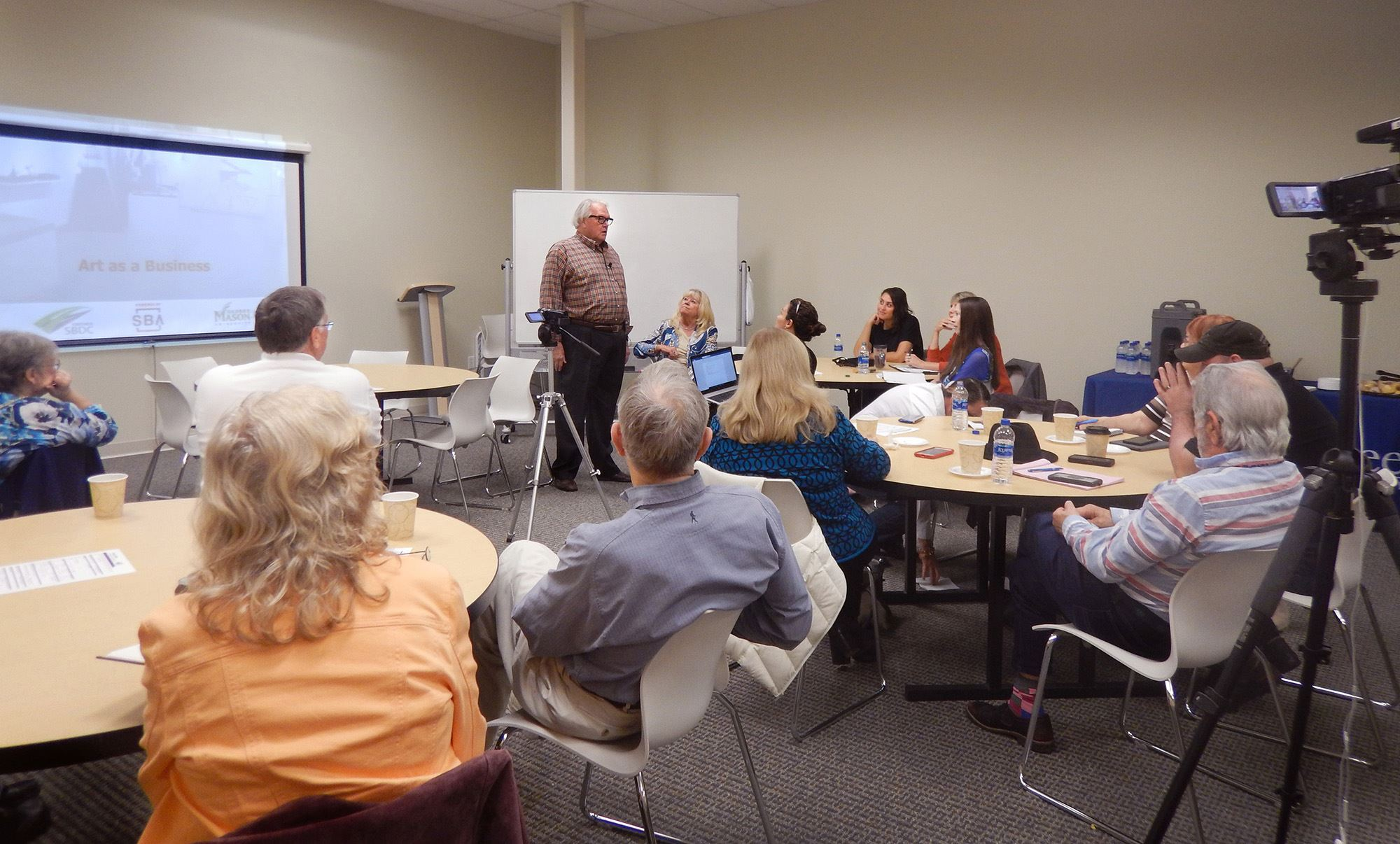 Art as a Business Workshop speaker Marc Willson shares tips for artists